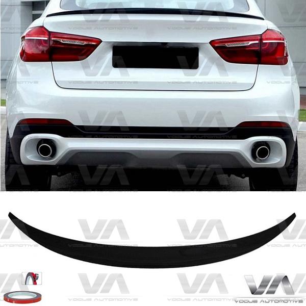 BMW X6 F16 X6M F86 PERFORMANCE Style v1 GLOSS BLACK Boot Spoiler