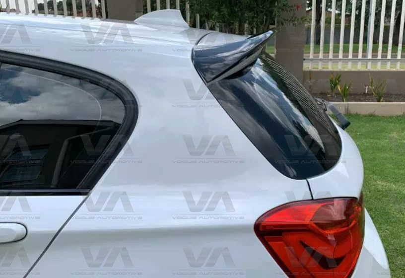 BMW 1 Series F20 F21 PERFORMANCE Style GLOSS BLACK Roof Spoiler