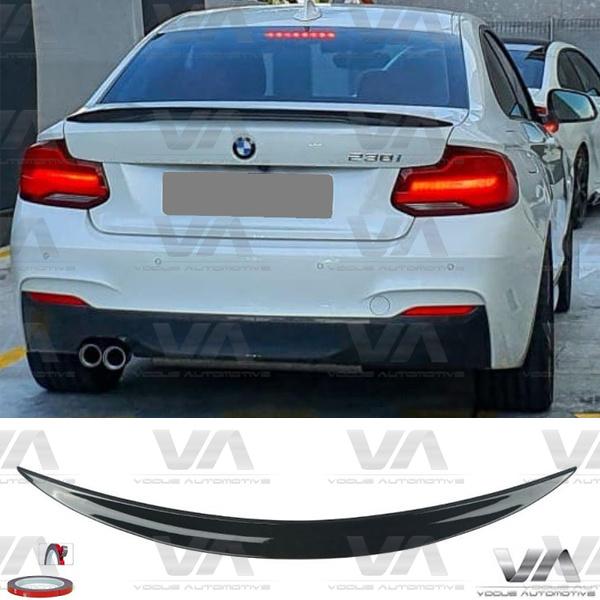 BMW 2 Series F22 F87 M2 PERFORMANCE Style GLOSS BLACK Boot Spoiler