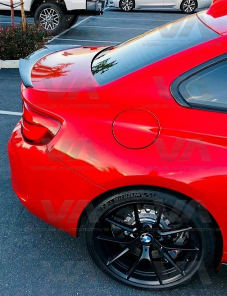 BMW 2 Series F22 F87 M4 Style GLOSS BLACK Boot Spoiler