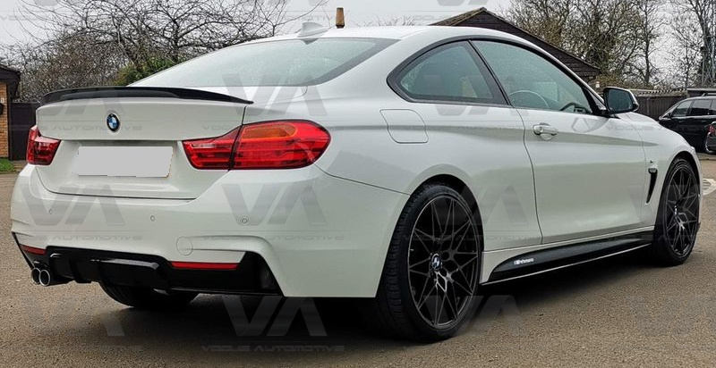 BMW 4 Series F32 PERFORMANCE Style GLOSS BLACK Boot Spoiler