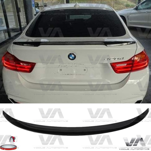 BMW 4 Series F36 PERFORMANCE Style GLOSS BLACK Boot Spoiler