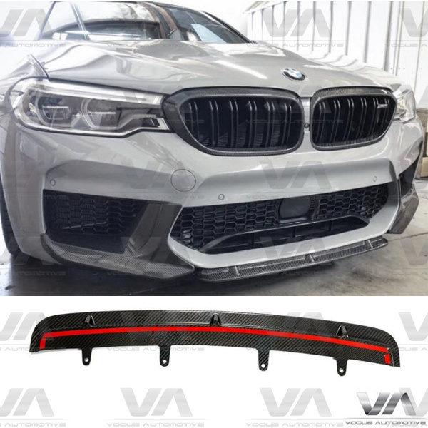 BMW F90 M5 Prepreg CARBON FIBER STR Style Front Splitter