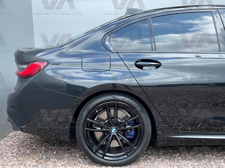 BMW 3 Series G20 G80 M3 Style GLOSS BLACK Boot Spoiler