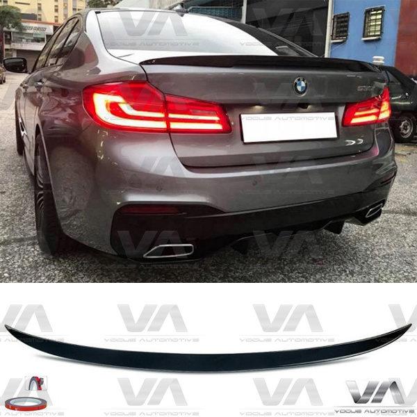 BMW 5 Series G30 F90 M5 PERFORMANCE Style GLOSS BLACK Boot Spoiler