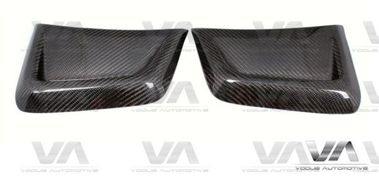 MERCEDES-BENZ C Class W204 C63 AMG CARBON FIBER Front Side Vents Covers